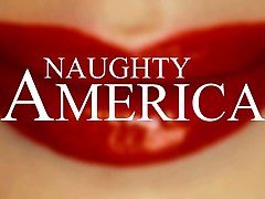 august ames goes crazy on cock - naughty america