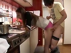 Hottest Japanese chick Karina Mikani in Incredible Cuckold JAV clip