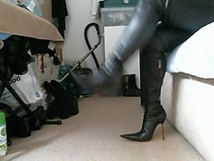 my favourite pointed italian thigh high boots stilettos