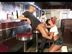 fucking the waitress at the diner