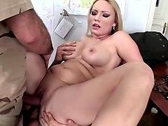 Exotic pornstar Elinor Gasset in amazing big tits, swallow porn clip