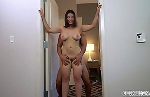 Stepson fucks Lasirena69 from behind to get rid of that hard on after taking a viagra!