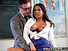 brazzers - big tits at school -  learning the hard way scene