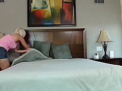 SEXYMOMMA - Busty MILF finger fucking her stepdaughter