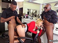 Exotic pornstar Krissy Lynn in Crazy Blonde, Big Ass sex scene