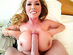 Kianna Dior & Jonni Darkko in Asian MILF Model's Sloppy BJ/Tit Fuck - EvilAngel
