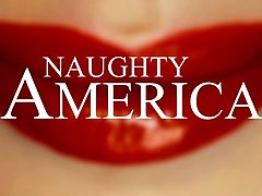 april snow falls on your cock gently - naughty america