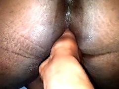 wetting, bbw, straight, ebony, pussy