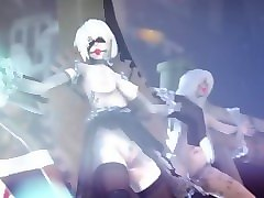 trailer of the collector's edition yorha plan