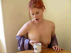 Hottest amateur Solo Girl, Redhead xxx scene