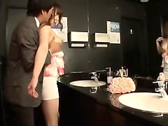 Seductive Japanese babes working their magic on hard cocks