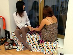 Alina and lynn intimate moments
