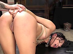 Gina Valentina Earns Her Collar - TheTrainingofO