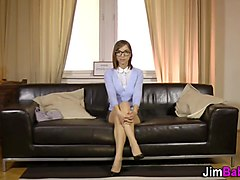 Spex teen rides old dick