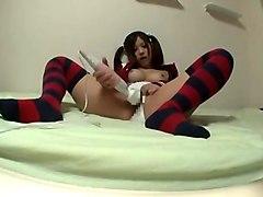 Horny Japanese model Haruki Sato in Best Stockings, Solo Girl JAV video