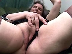 hairy granny upskirt and pussy tease
