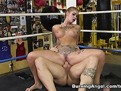 Amazing pornstars Kleio Valentien, Derrick Pierce in Exotic Facial, Big Tits adult scene