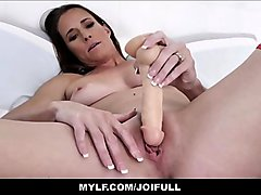Your Horny MILF Step Mom Teaching You Her Step Son Using Dildo JOI POV