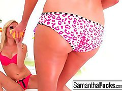 Samantha and Victoria Make Love