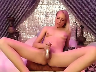 Vibrator on clit orgasm- more videos on sexycams8.org