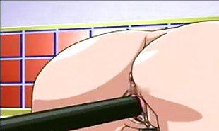 Two sexy girls get fucked by bank robbers hentai