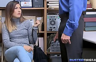 Virgin Asian Teen Shoplifter Fucked By Cop