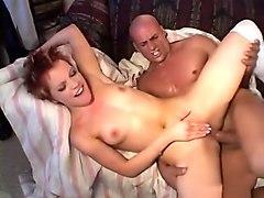 Incredible pornstar Emily Davinci in horny redhead, anal xxx scene
