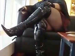 thighs, bbw, thigh boots, public, boot