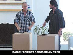 daughterswap - teens tricked into fucking their dads