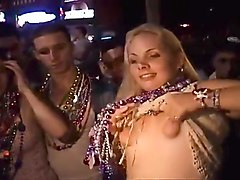 Mardi Gras makes whores out of normal chicks