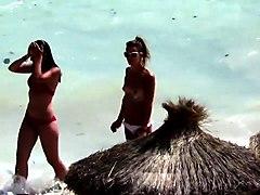 beach, bikini, beach voyeur, bra, new