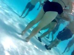 Underwater Asses Part 1
