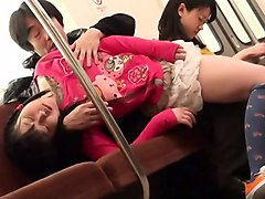 Sweet Japanese teens getting drilled hard by horny old men