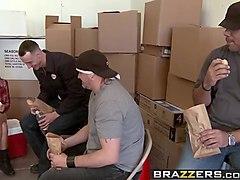 brazzers - big tits at work -  undercover boobs scene starri
