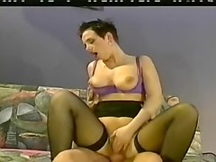 Dyke Lesbian Experiments with Cock