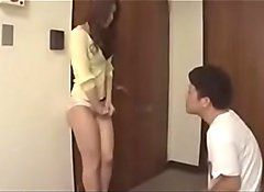 Japanese hot Milf shocks 2 bad boys next door - ReMilf.com