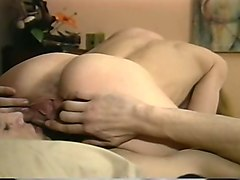 sweet and nasty blonde babe greedily sucking fat cock