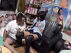 Amazing Japanese whore Yuzu Ogura in Crazy Handjobs, Cunnilingus JAV video