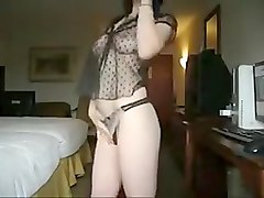Exotic amateur Webcam, Brunette sex video
