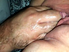 stretching mature wife's wet vagina in amateur video