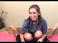 riley reid footjob
