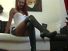 fetish liza - worship jerk cum lick