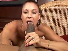 Exotic pornstar Vanessa Videl in incredible big dick, hairy sex video
