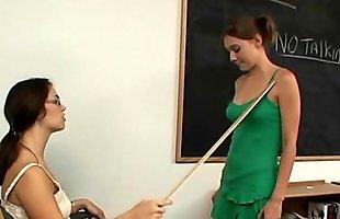 Teacher and schoolgirl lesbian fetish
