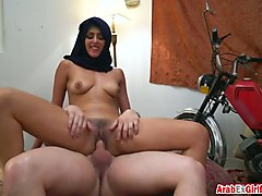 arab, cock, riding, fucked, arabe