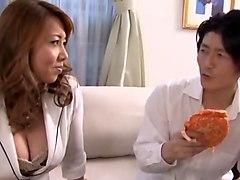 Crazy Japanese girl Yuu Kawakami, Yumi Kazama in Amazing JAV clip